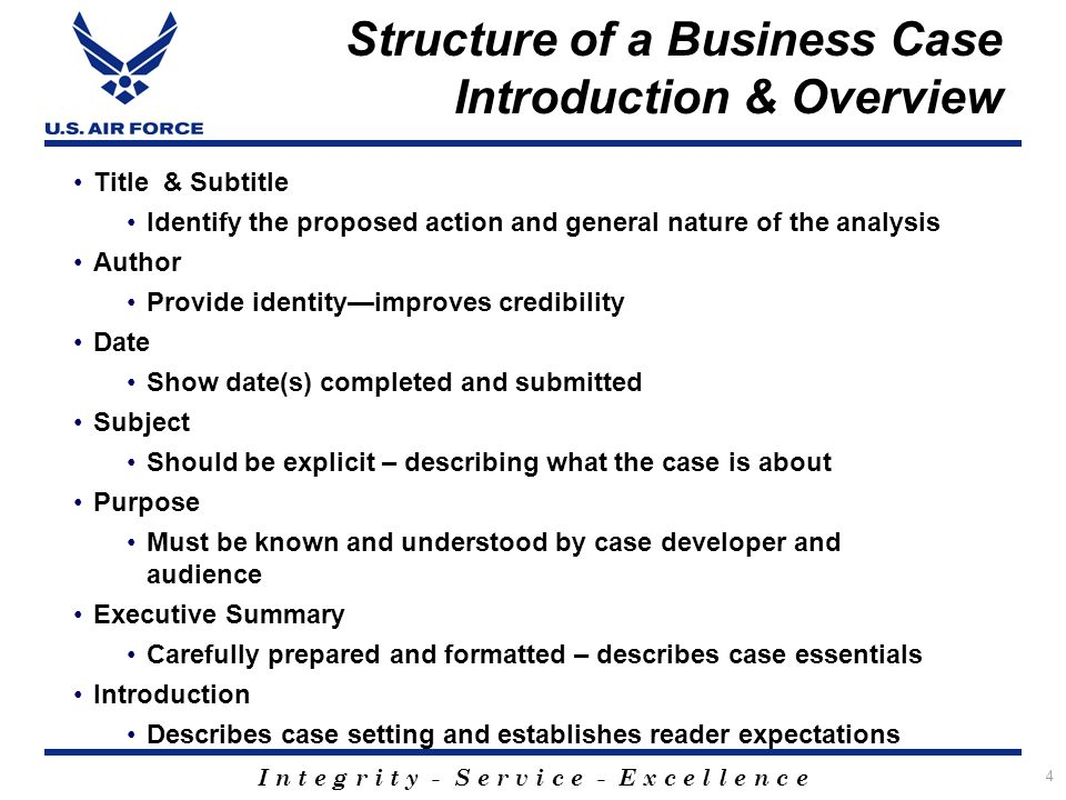 Business Case Analysis  Ppt Download