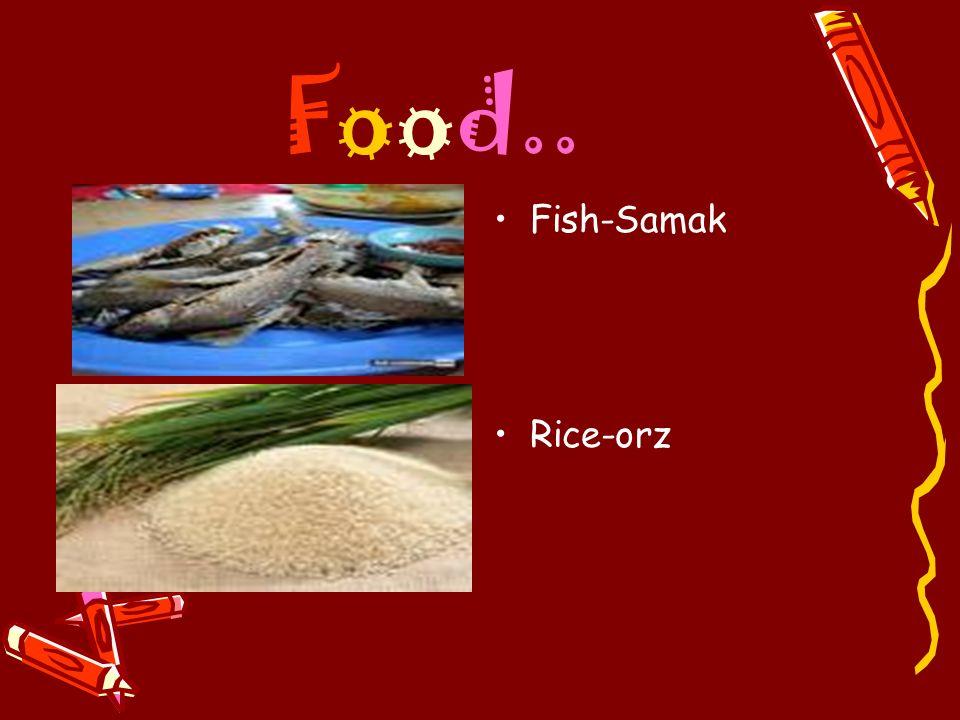 Food.. Fish-Samak Rice-orz
