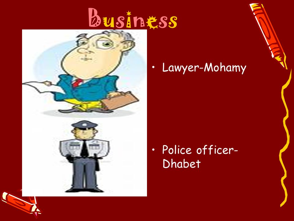 Business Lawyer-Mohamy Police officer-Dhabet