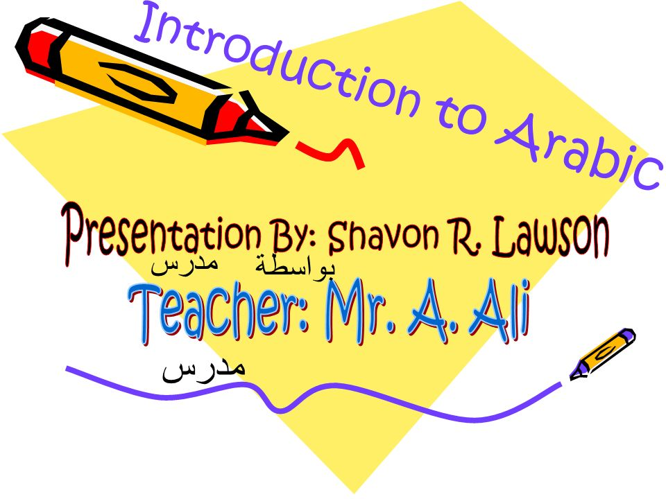 Presentation By: Shavon R. Lawson