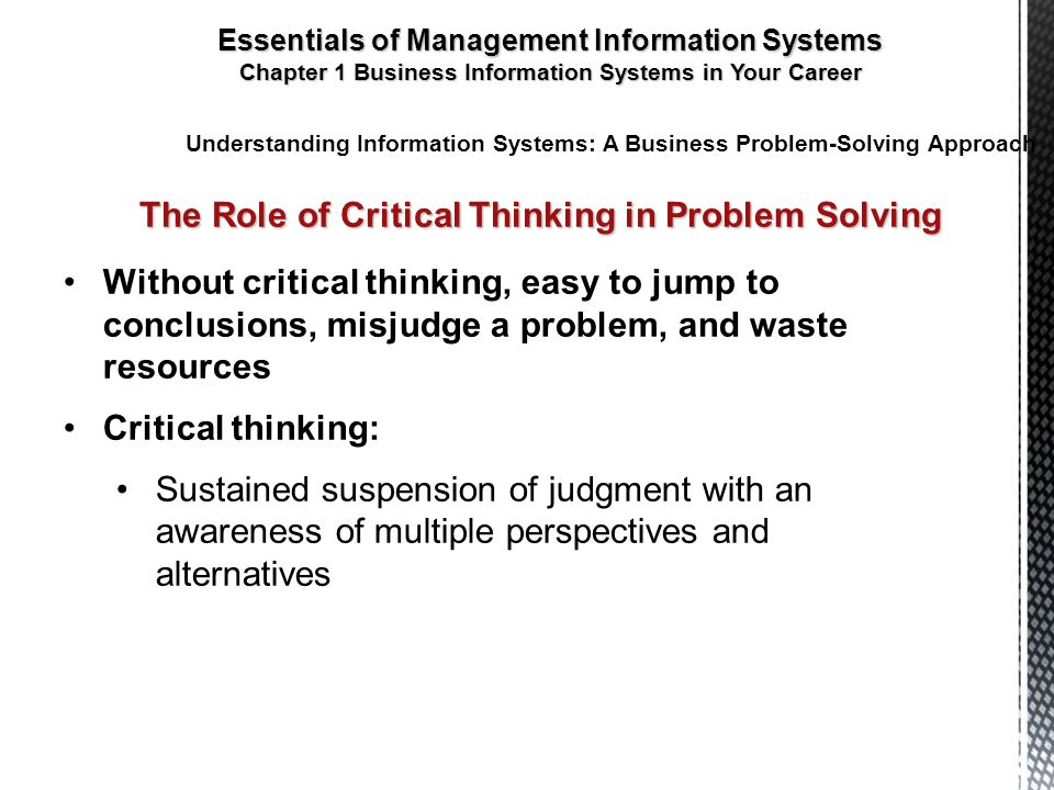 role of critical thinking in business Click here click here click here click here click here role of critical thinking in business why critical thinking matters in the workplace.