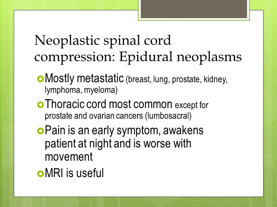 Diseases of the Spinal Cord - ppt video online download