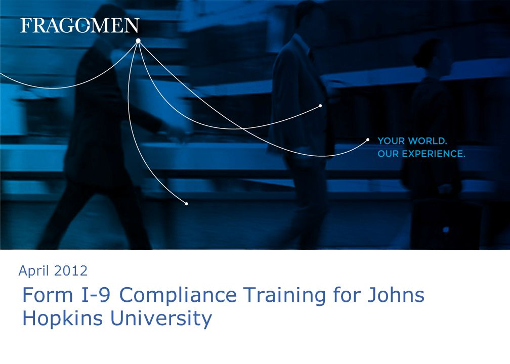 Form I-9 Compliance Training for Johns Hopkins University