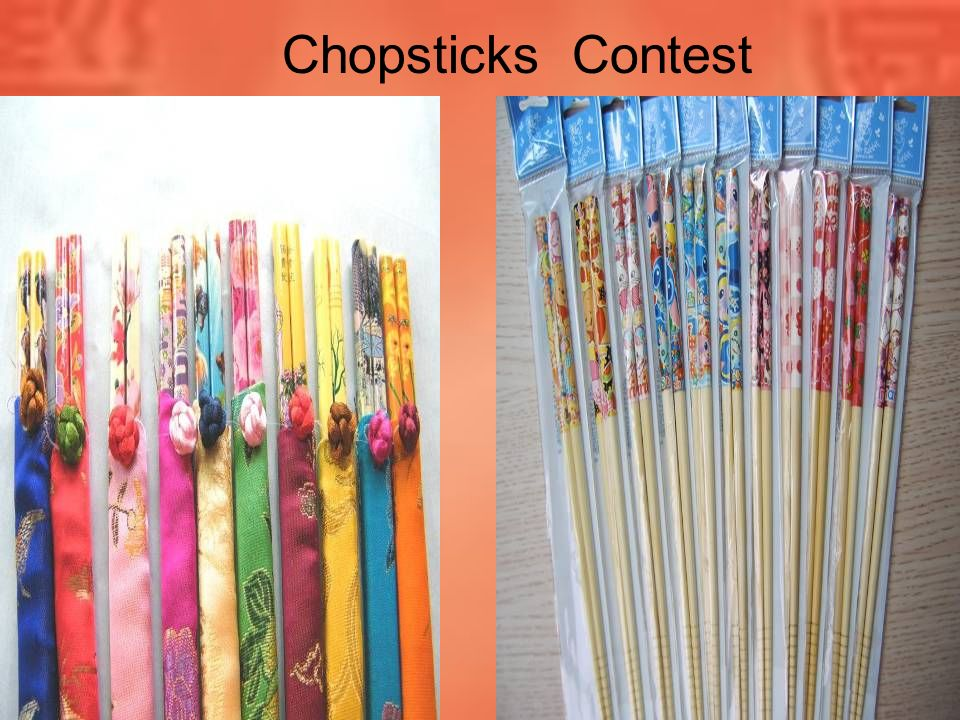 Chopsticks Contest