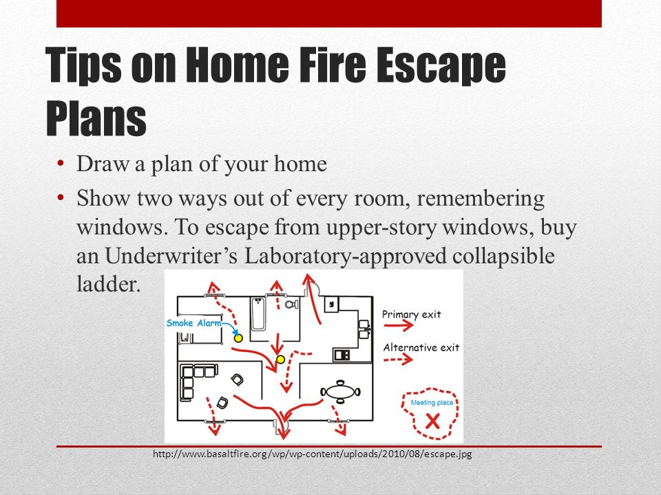 Created by curt harrell jesse kuzy for ppt video for How to make a home fire escape plan
