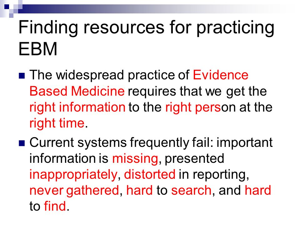 the imprtance of evidence base practice Evidence-based practice in nursing integrates research evidence, patient  preferences and the clinical  the importance of nursing research.