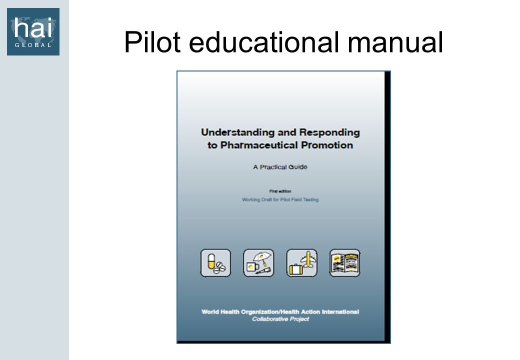 Pilot educational manual