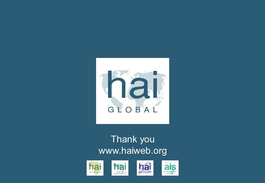 Thank you www.haiweb.org