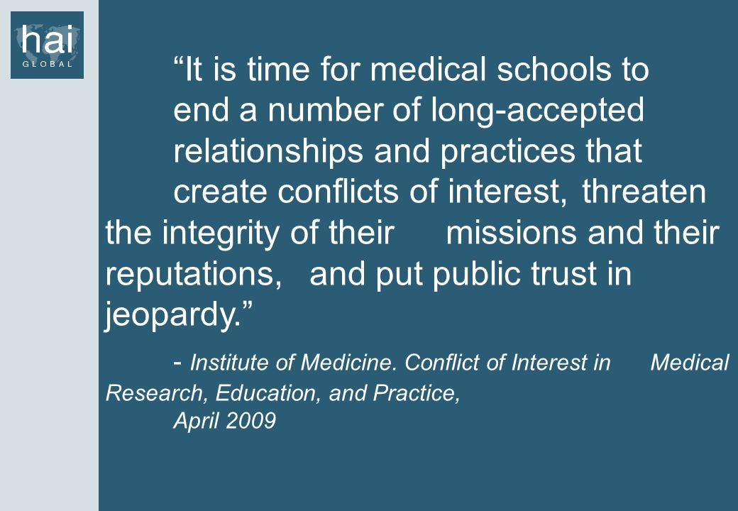 It is time for medical schools to. end a number of long-accepted