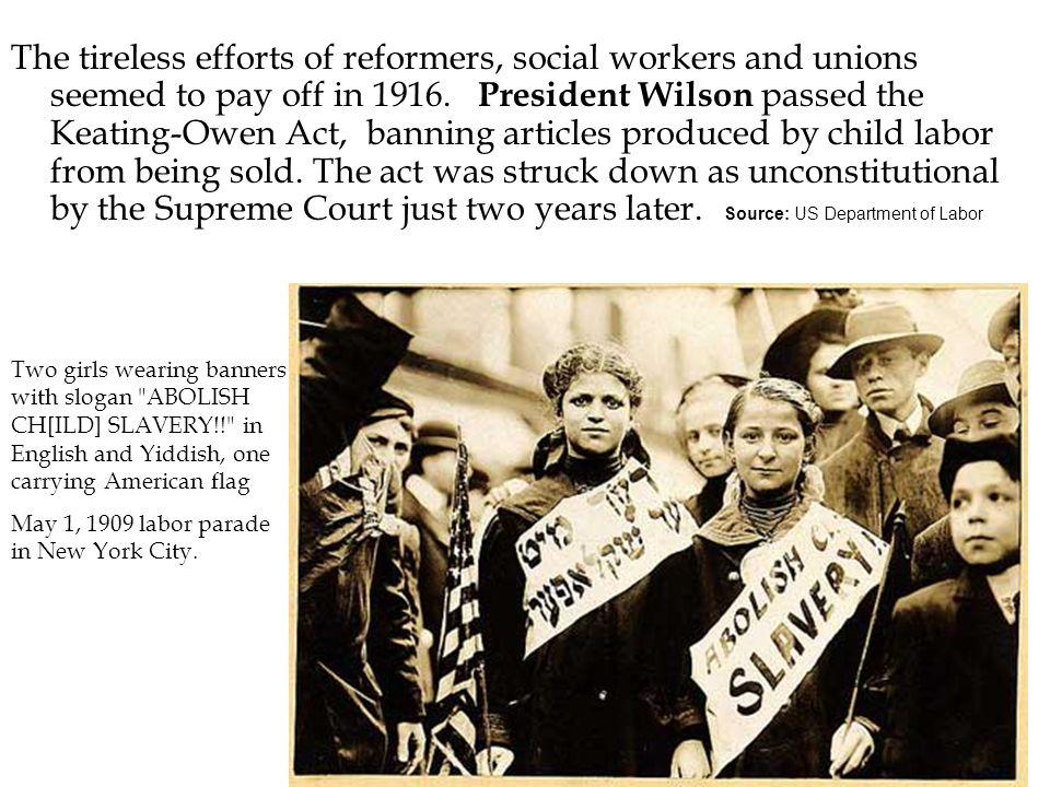 Keating Owen Act