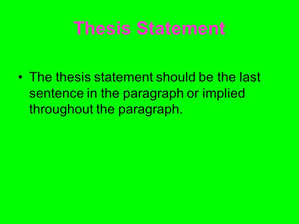 where should the thesis statement be placed Thesis statement, dissertation, thesis, research proposal, literature review.