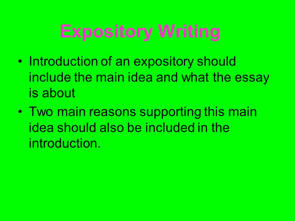 expository essay doing what you should Essays - largest database of quality sample essays and research papers on expository essay.
