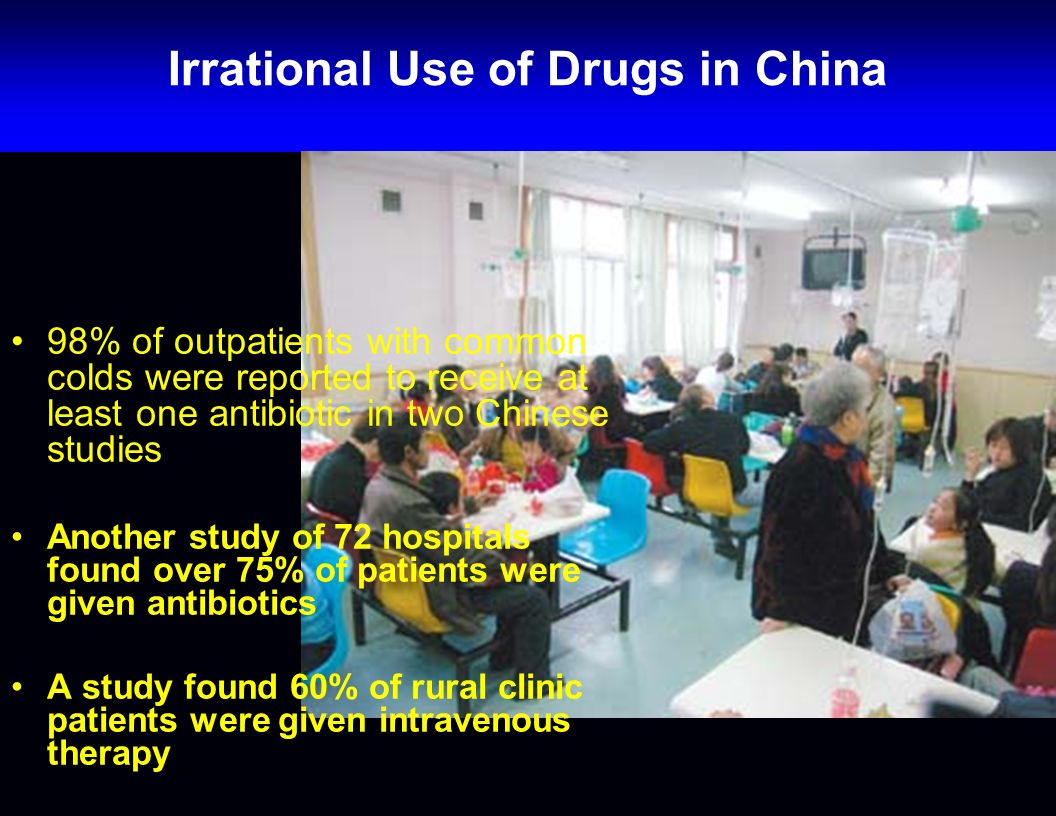 Irrational Use of Drugs in China