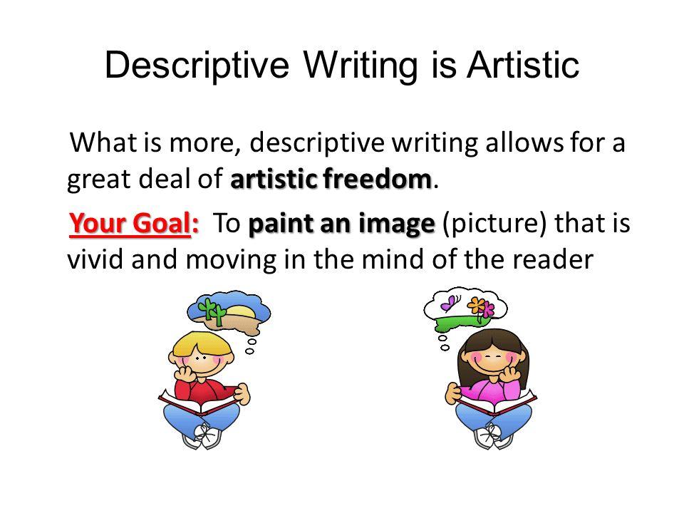 Describe a painting essay