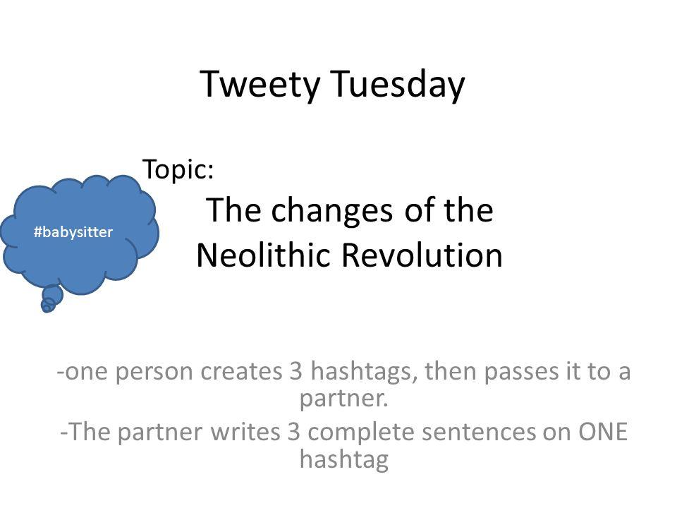 Neolithic revolution argumentative essay