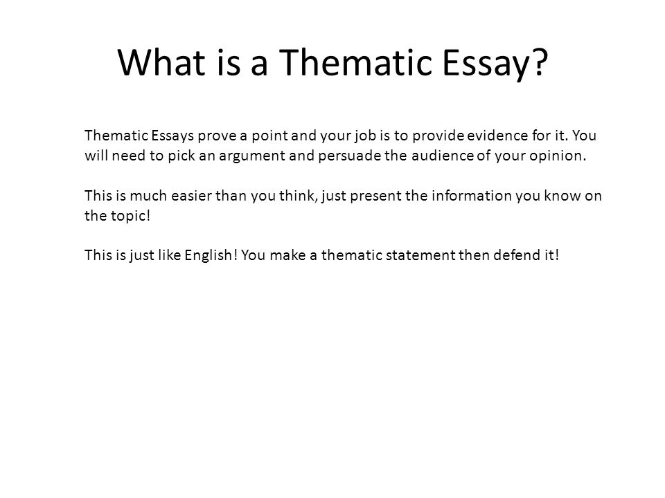 How to Write an Essay on the Theme of a Book