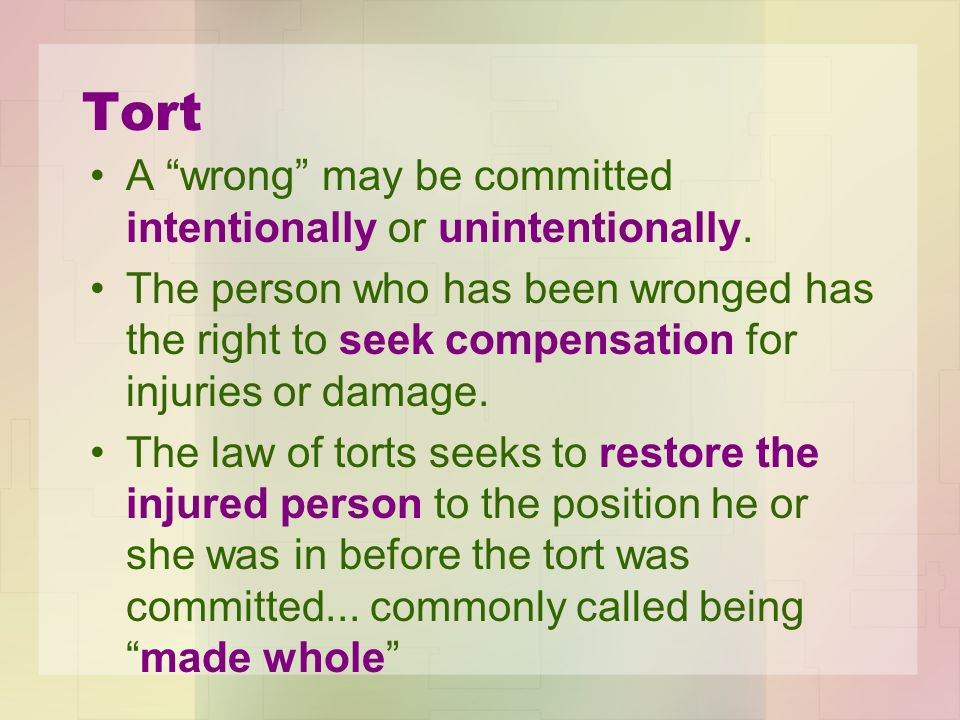 tort meaning in hindi