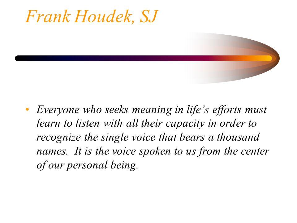 Frank Houdek, SJ