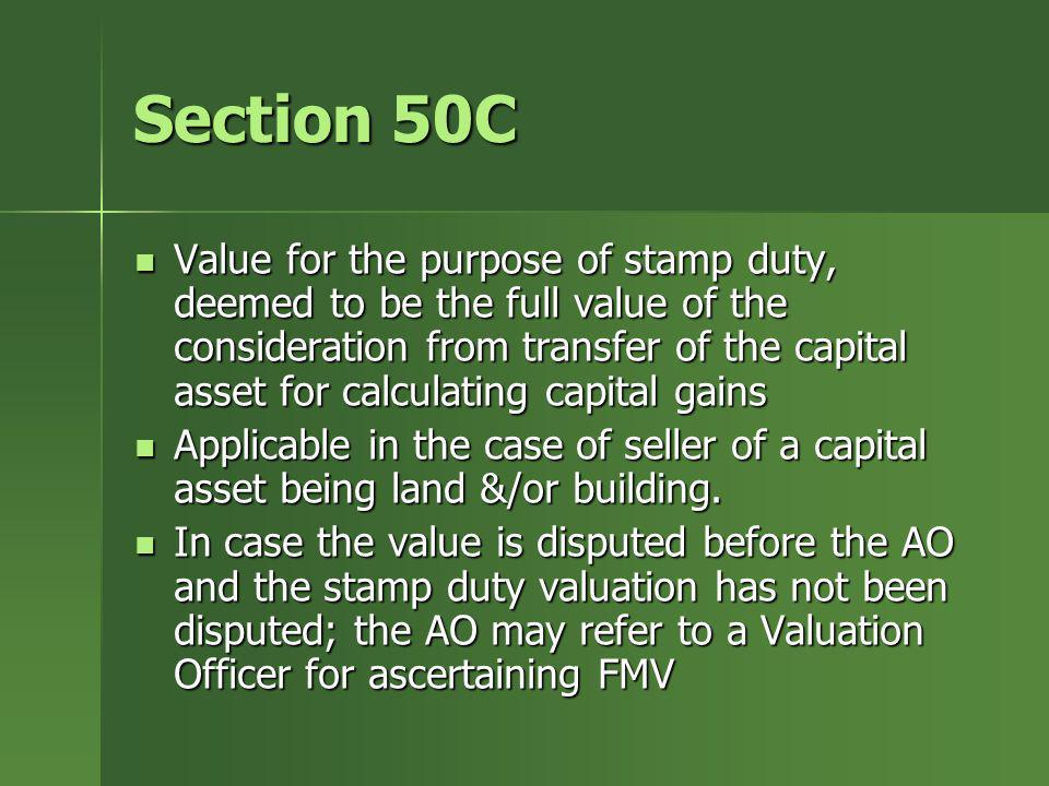 Section 50C