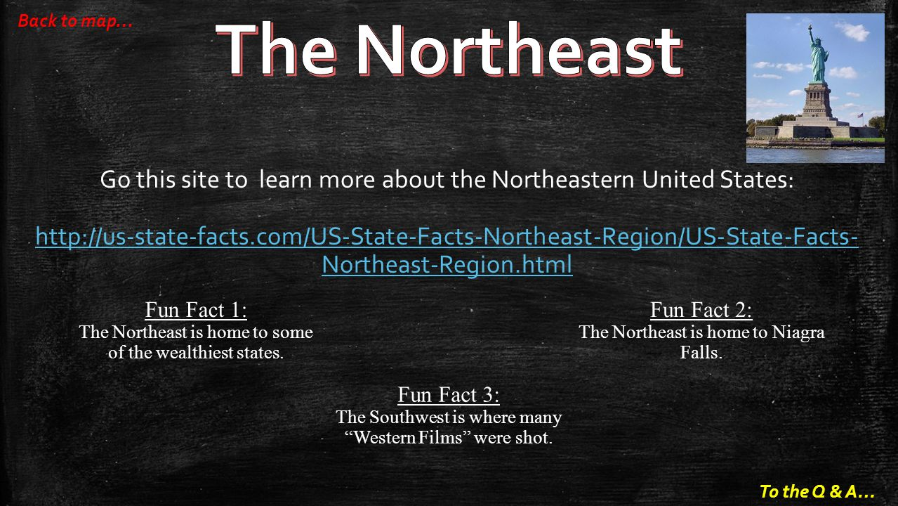 The Northeast Back To Map Go This Site To Learn More About The Northeastern United