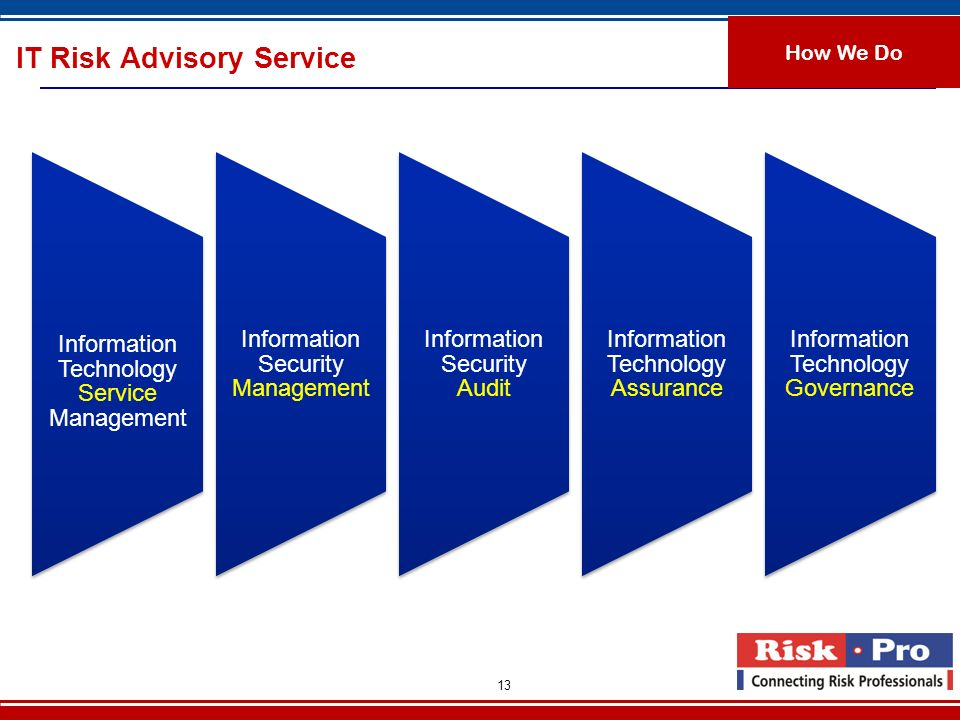 IT Risk Advisory Service