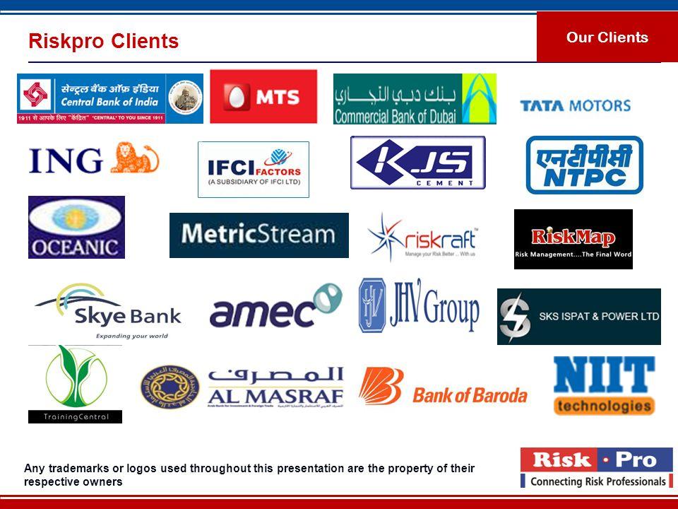 Riskpro Clients Our Clients