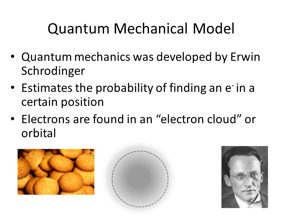 quantum mechanical model of atom pdf