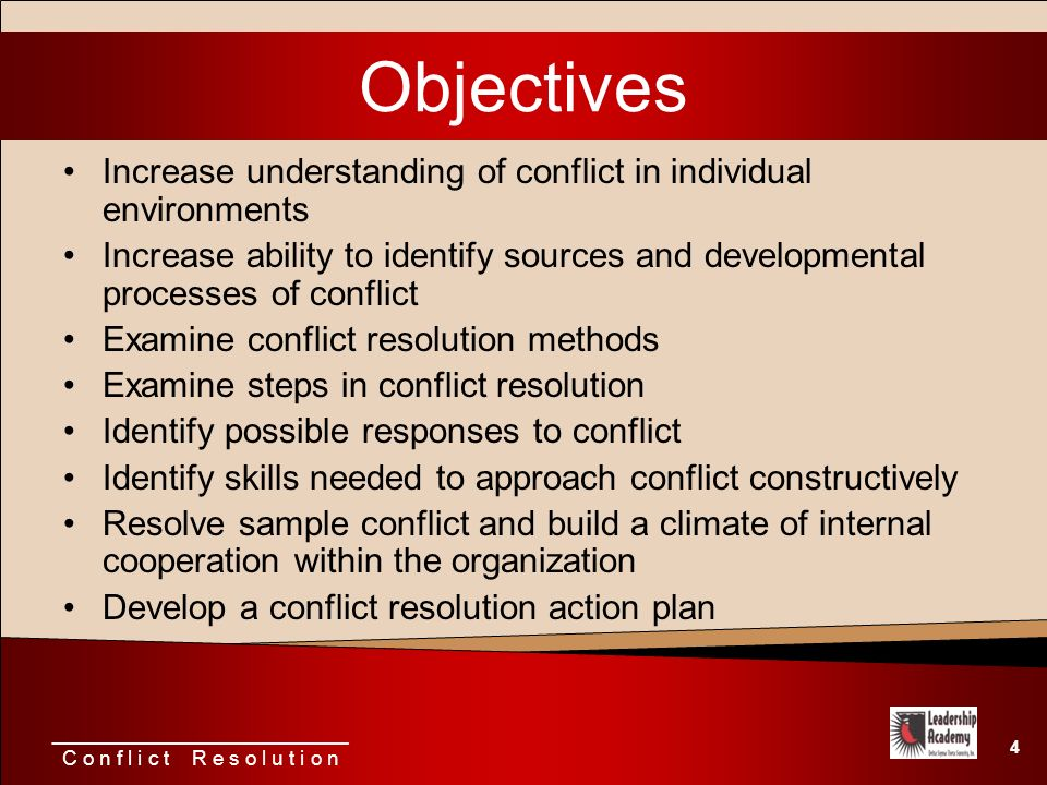 identify skills and approaches needed for resolving conflict Identify ways of working that can help improve partnership working identify skills and approaches needed for resolving conflicts explain how and when to access support and advice about partnership working and resolving conflicts.