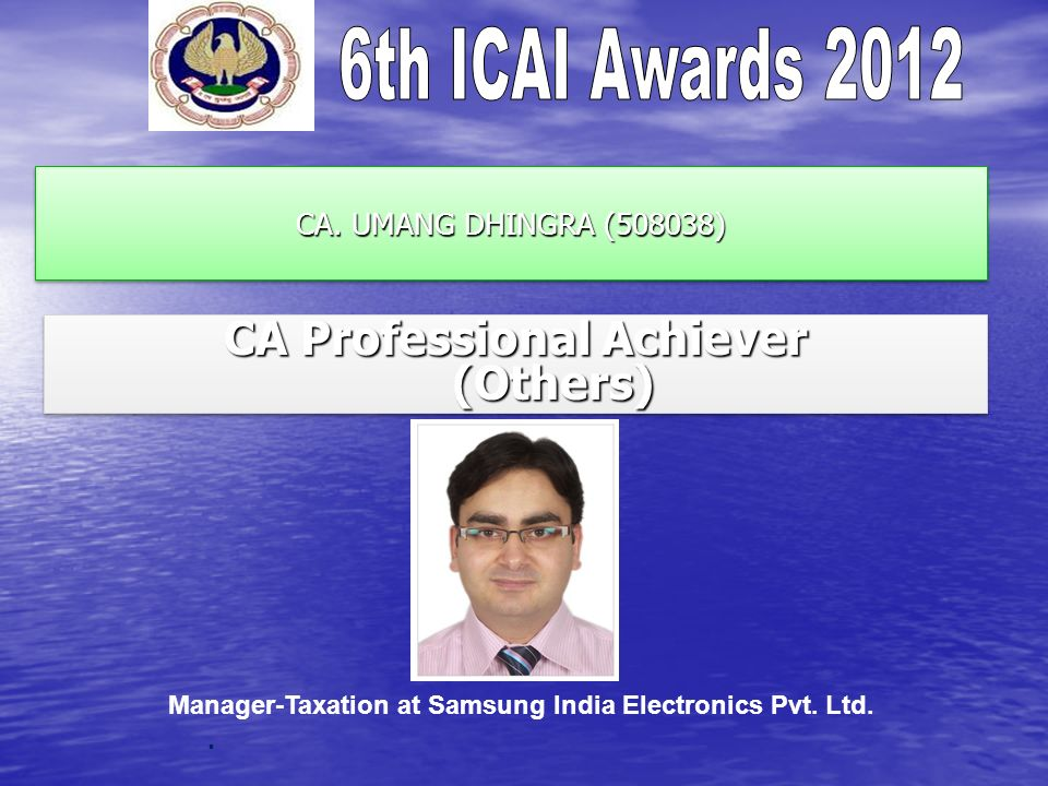 CA Professional Achiever (Others)