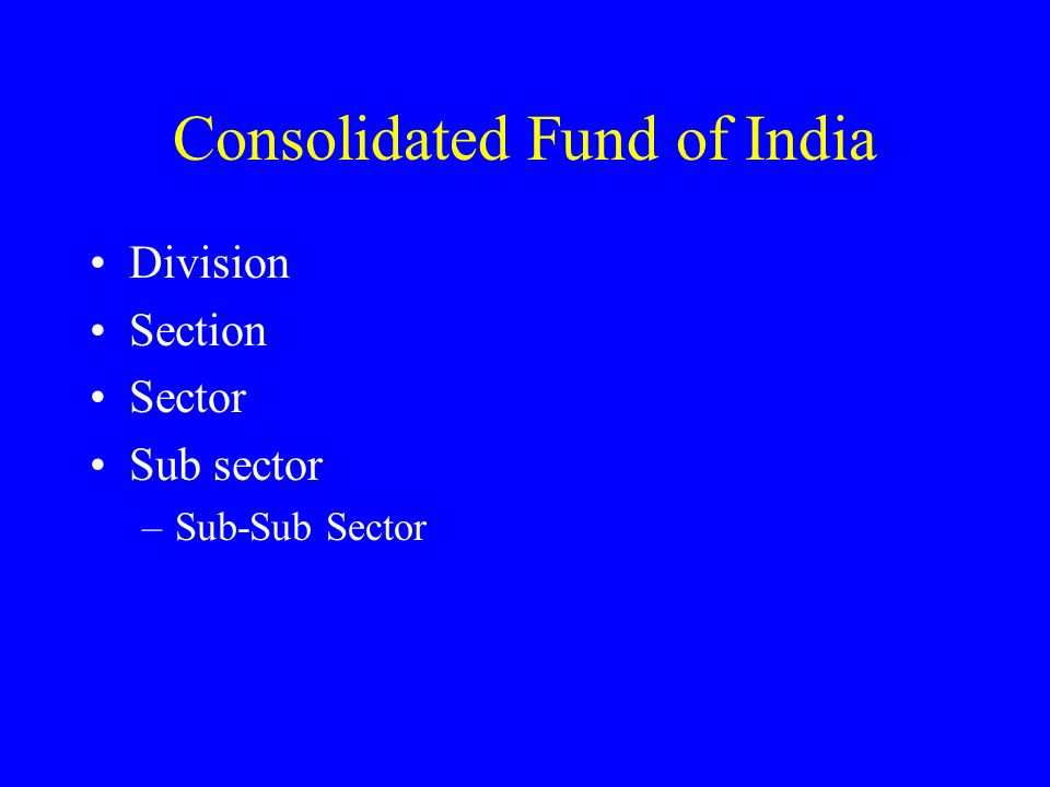 Consolidated Fund of India
