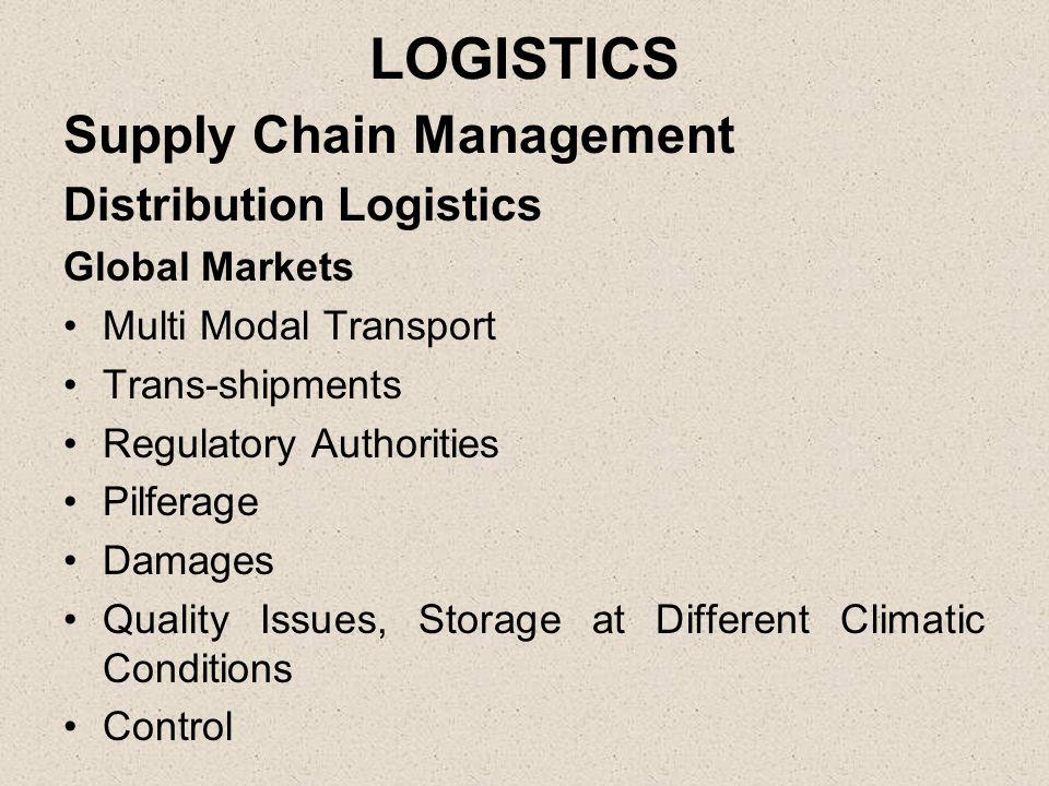 logistics and distribution management pdf