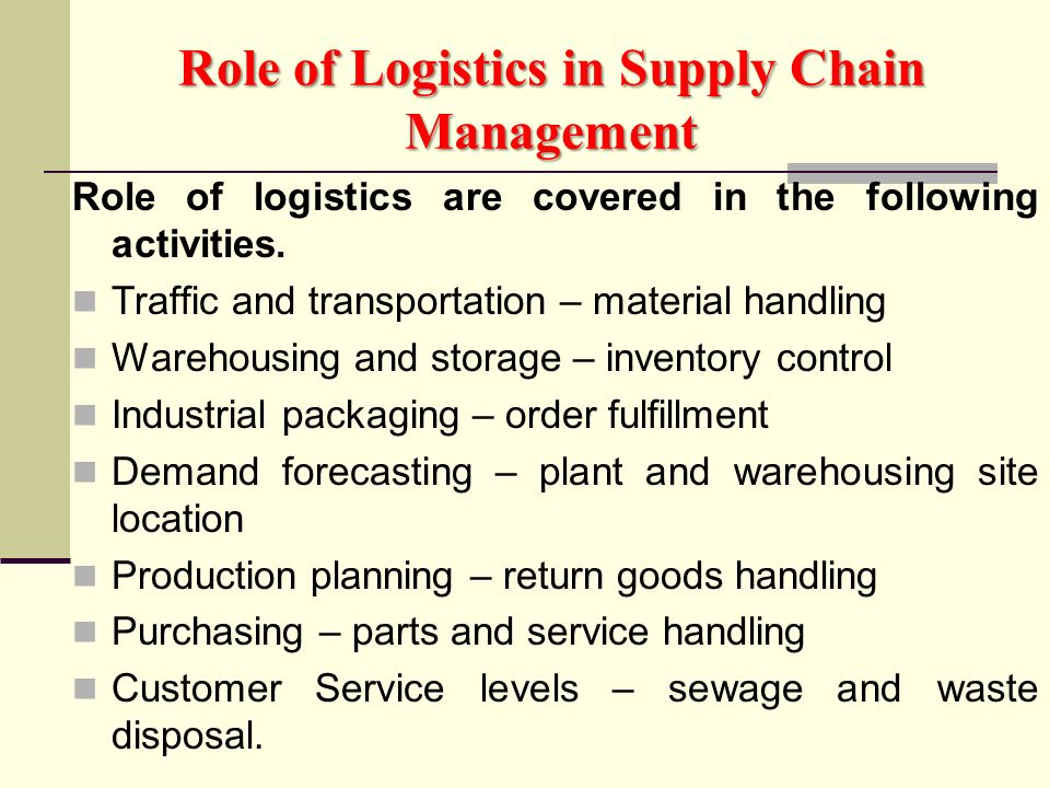Module 7 It In The Supply Chain Ppt Video Online Download