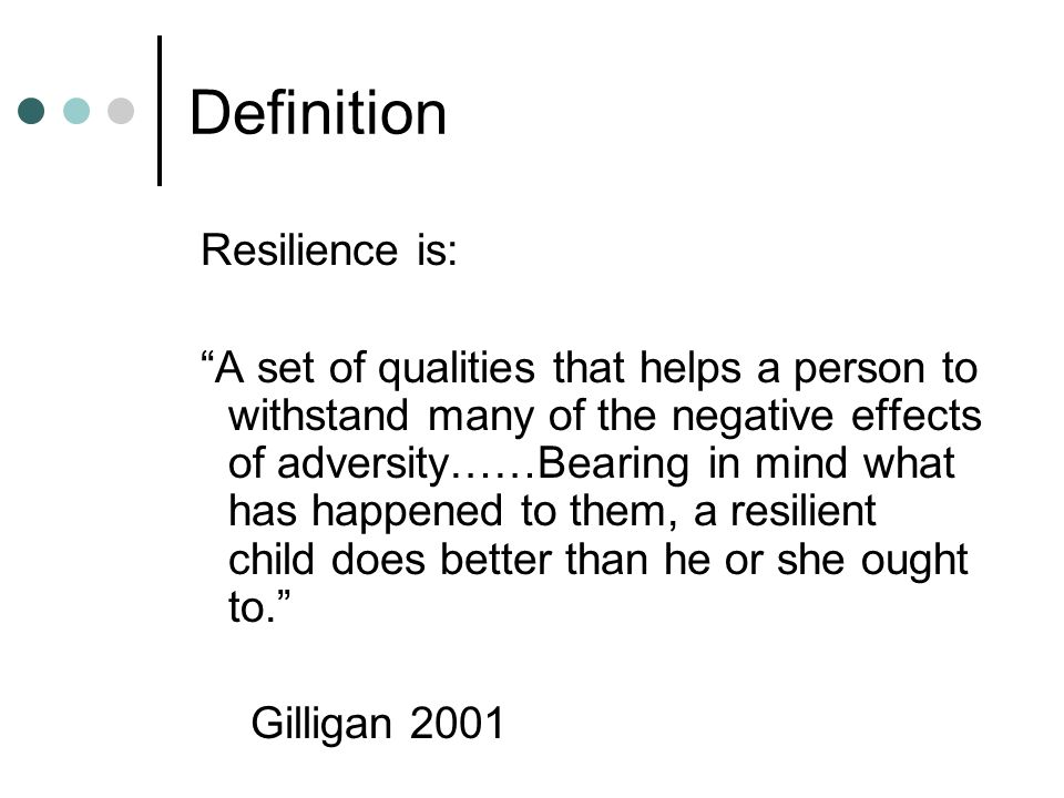 Psychological resilience - Wikipedia