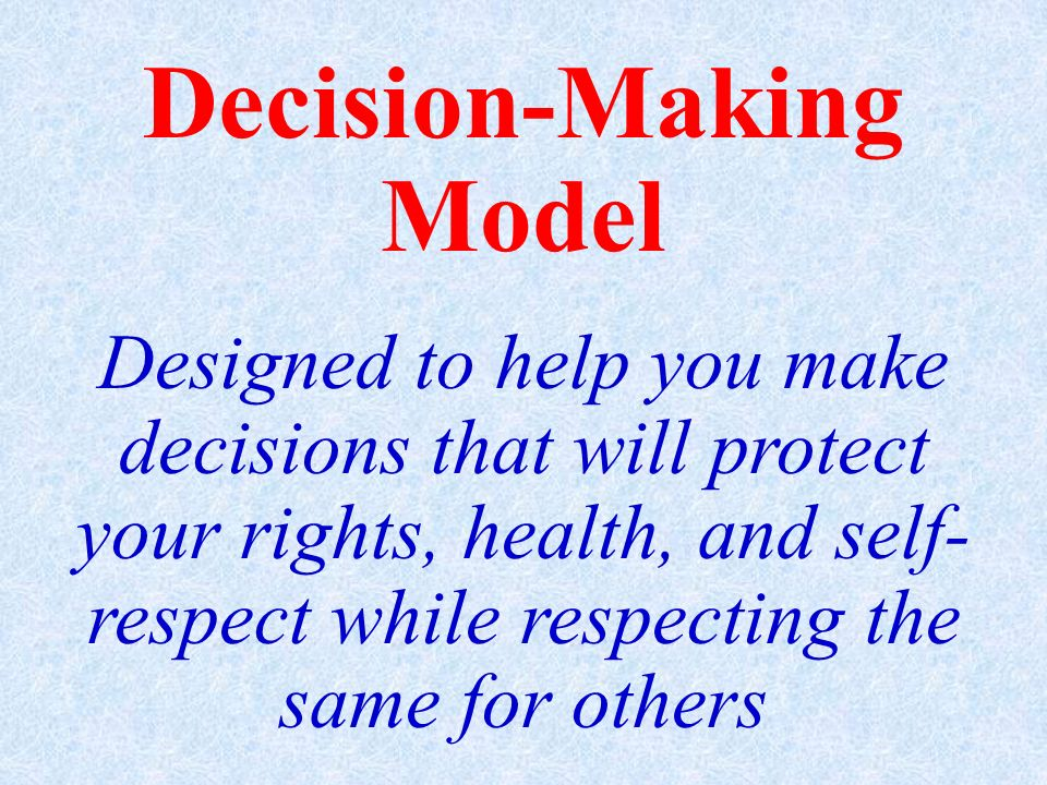 Decision-Making Model