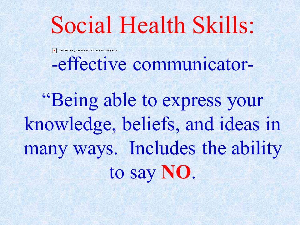 -effective communicator-