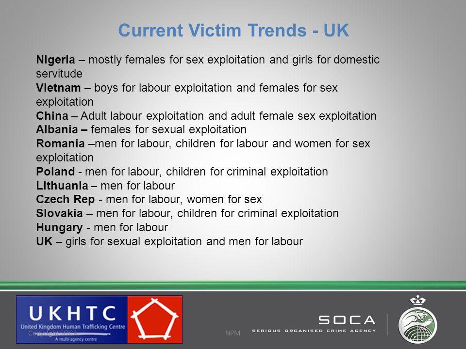 Current Victim Trends - UK