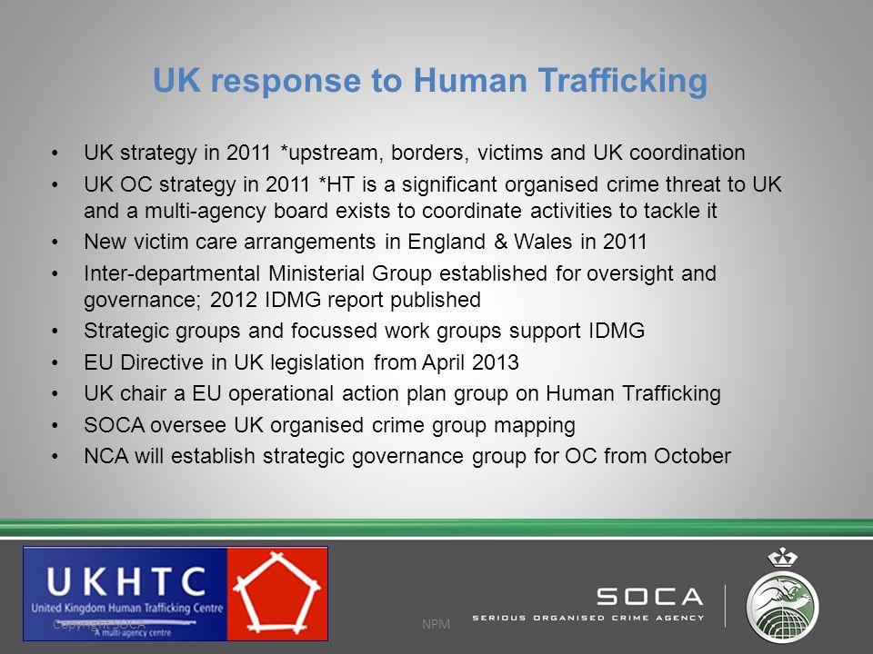 UK response to Human Trafficking