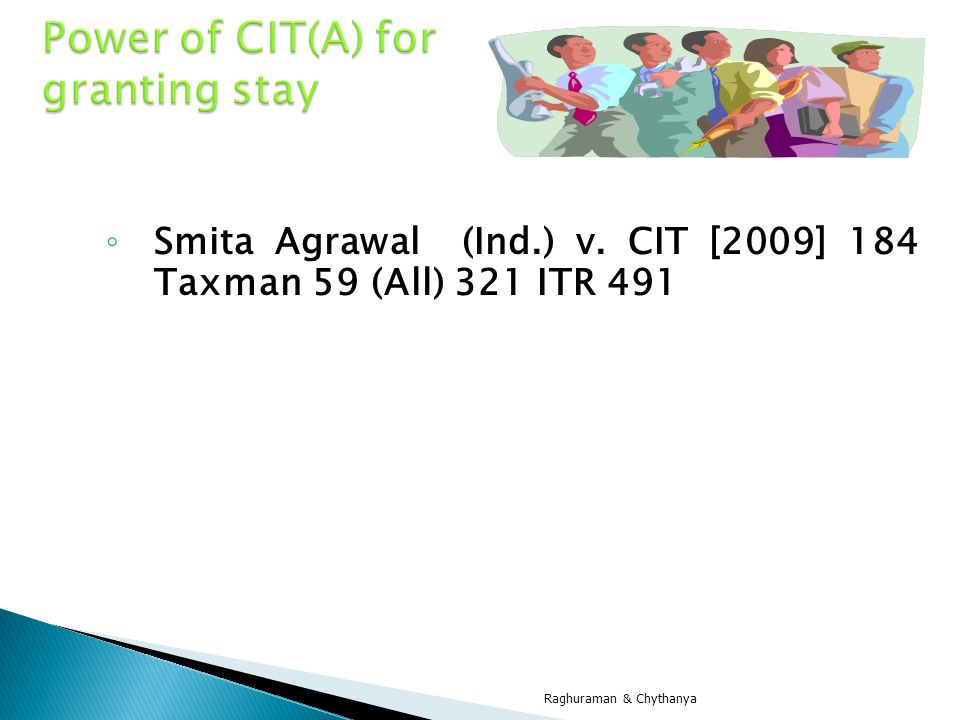 Power of CIT(A) for granting stay