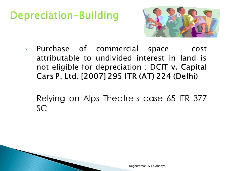 Depreciation-Building