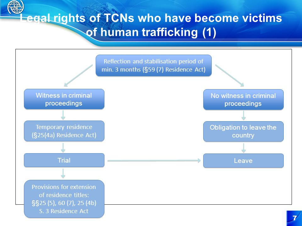 Legal rights of TCNs who have become victims of human trafficking (1)