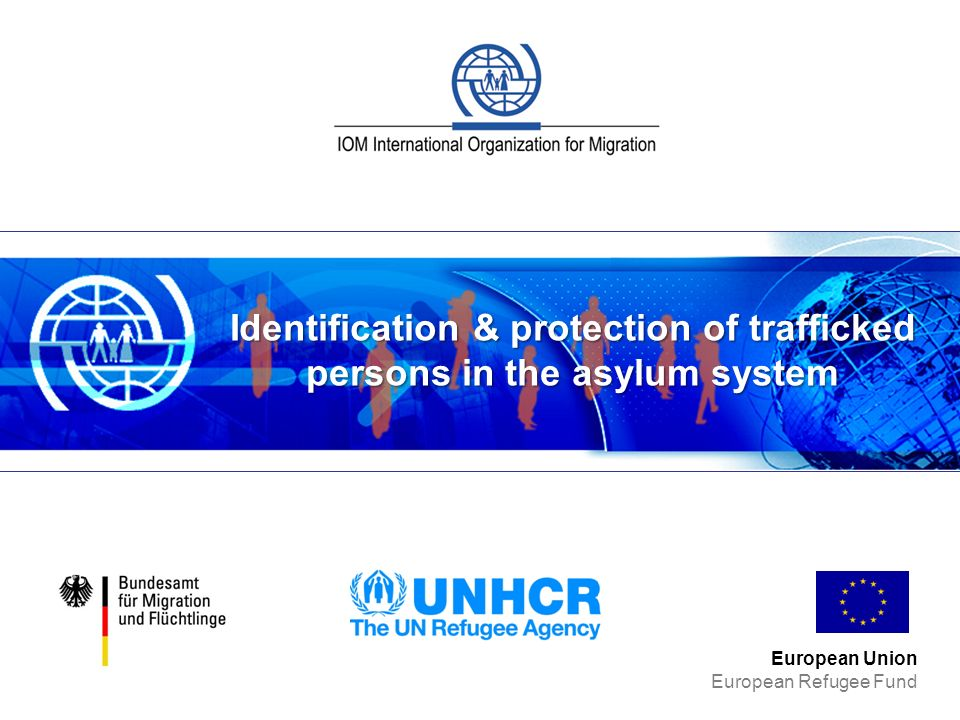 Identification & protection of trafficked persons in the asylum system