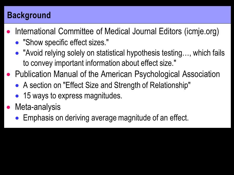 International Committee of Medical Journal Editors (icmje.org)