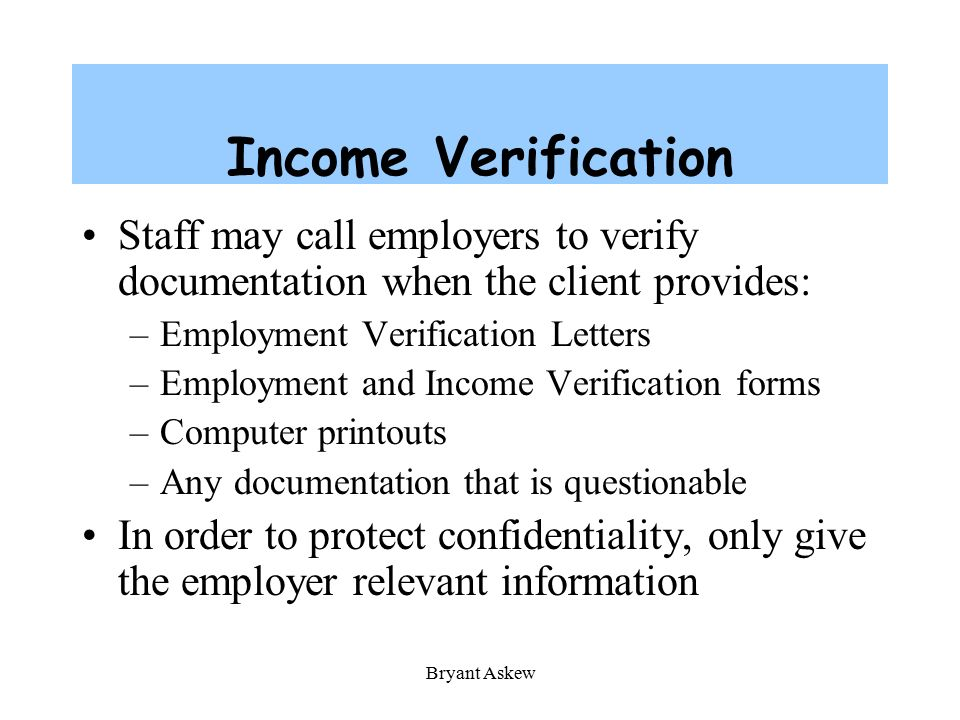 Employment Verification Form For Food Stamps