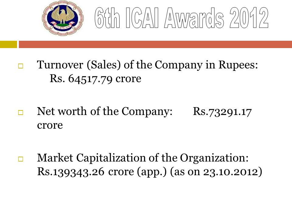 Turnover (Sales) of the Company in Rupees: Rs. 64517.79 crore