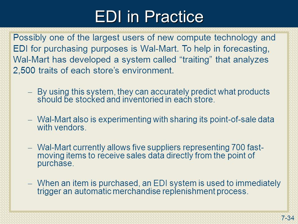 Wal mart procurement strategies