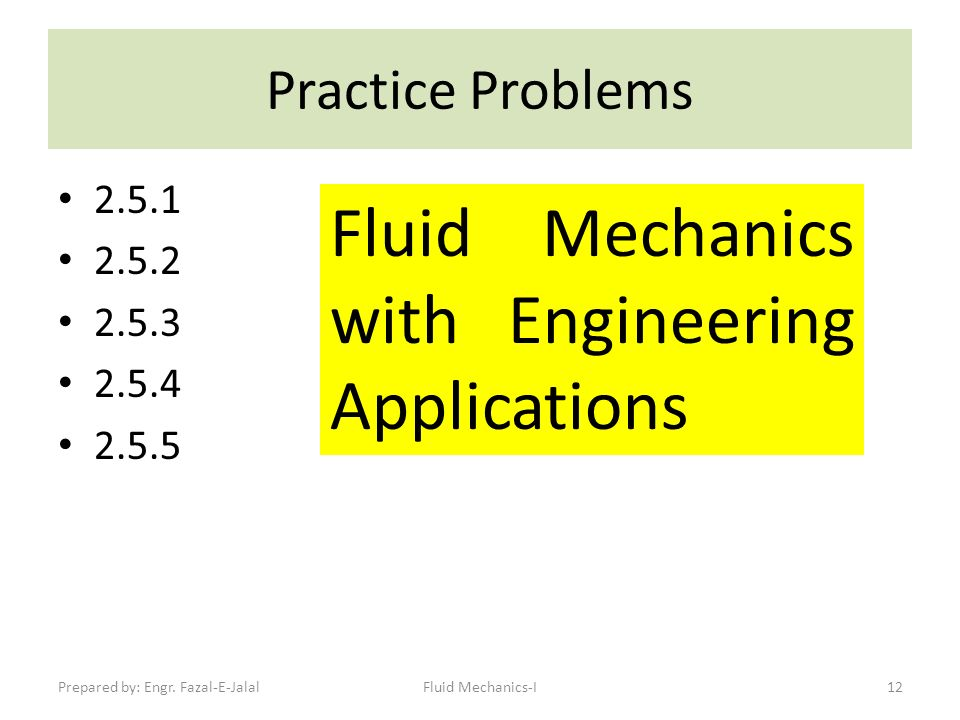 fluid mechanics with engineering applications pdf download