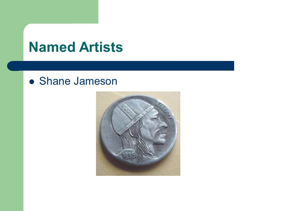Named Artists Shane Jameson