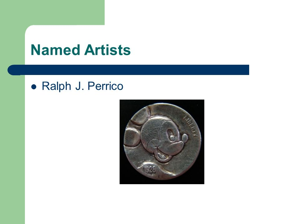 Named Artists Ralph J. Perrico