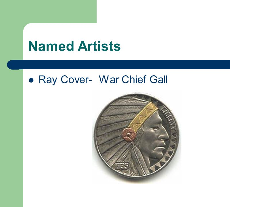 Named Artists Ray Cover- War Chief Gall