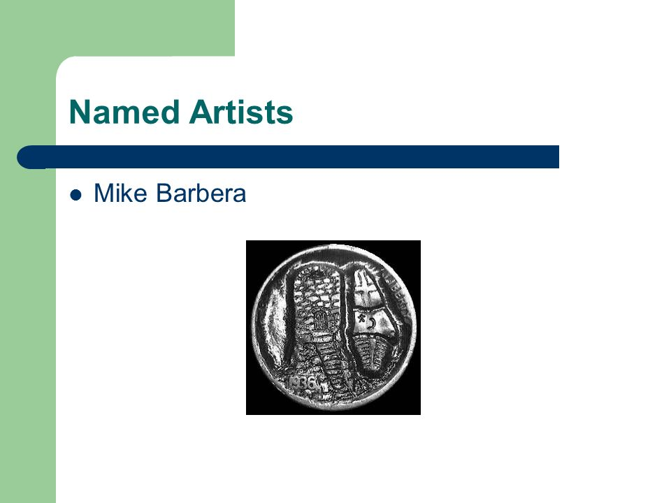 Named Artists Mike Barbera